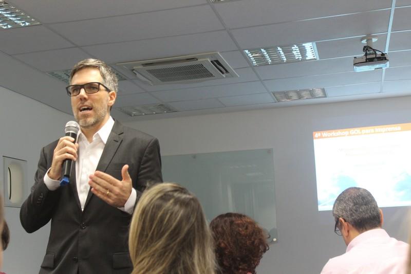 Paulo Sérgio Kakinoff, presidente da Gol