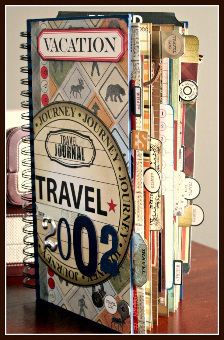 Travel Book Cover : Coleção de viagens objetos que trazemos como lembranças e