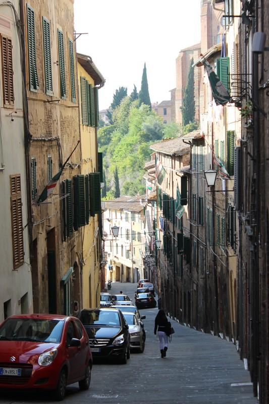 Ruas de Siena