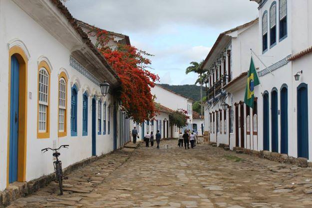 Paraty foi um destinos riscados da Bucket List Brasil