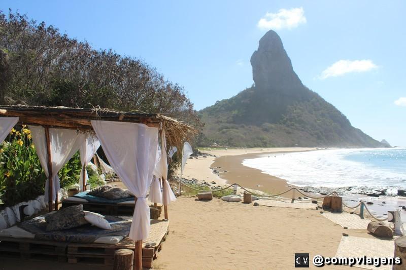 Praia da Conceição vista do Bar do Meio