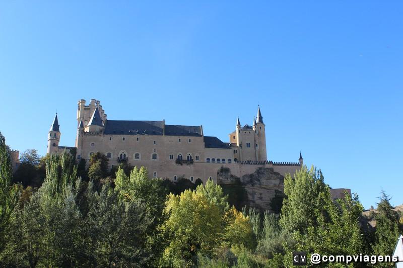 Alcázar de Segóvia visto do mirante
