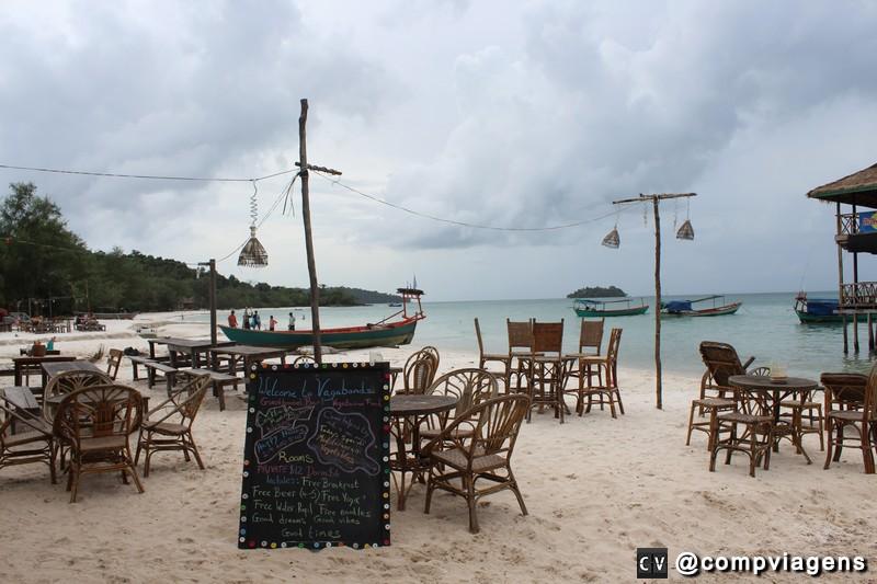 Barzinhos em Koh Rong