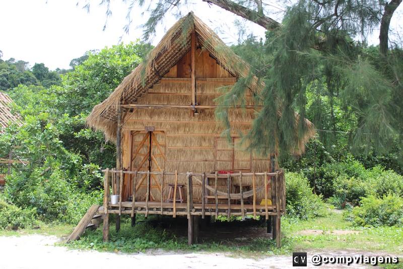Bangalôs em Koh Rong