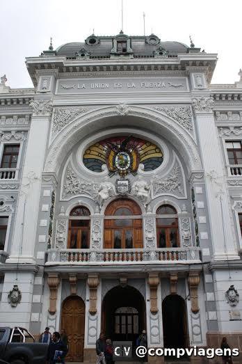Prédio da Prefeitura de Sucre