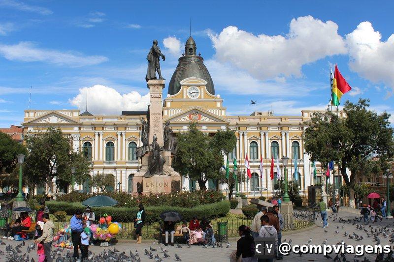 Parlamento da Bolívia, na Plaza Murillo