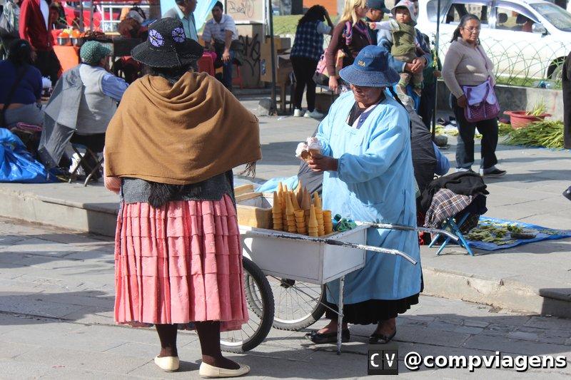 Cholitas paceñas