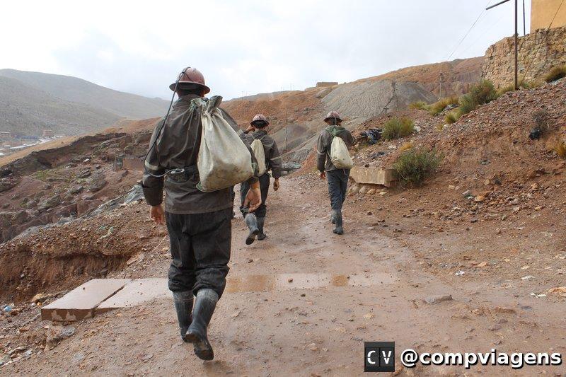 Chegando na mina de prata
