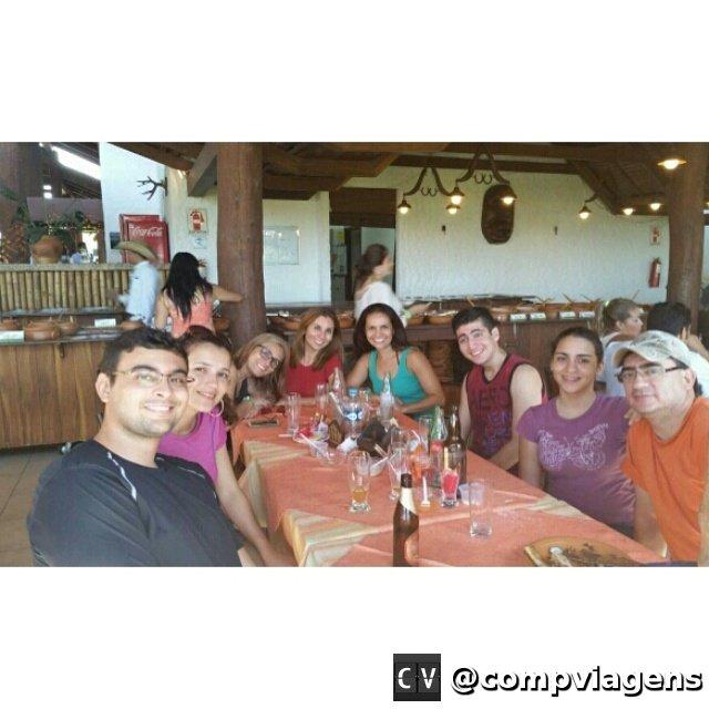 Com a família de Fred em Santa Cruz de La Sierra