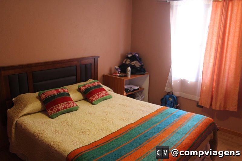 Nosso quarto no Hostal Casa Huéspedes Turipite