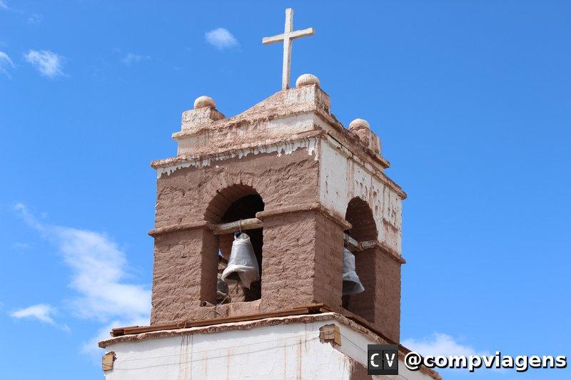 A Igreja de San Pedro estava passando por uma restauração
