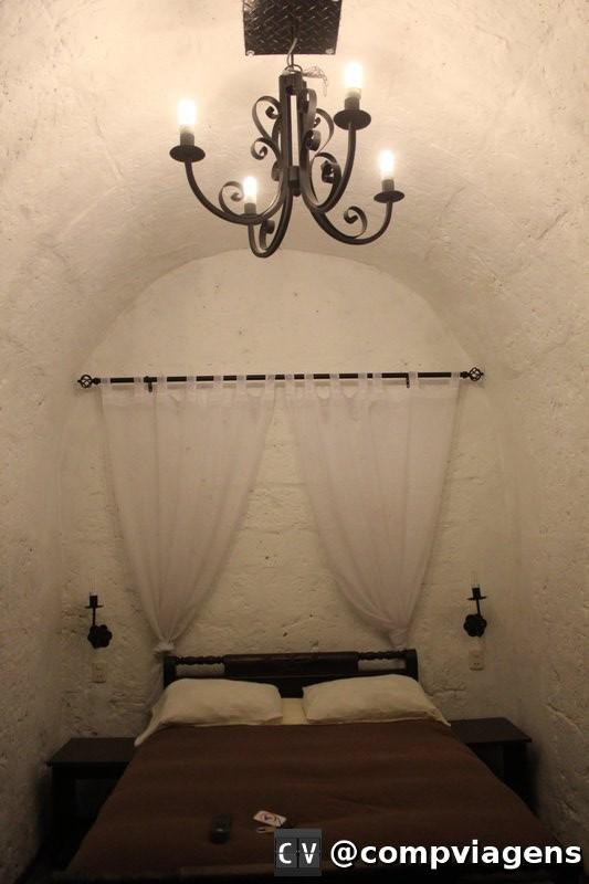 Nosso quarto no El Albergue Español Arequipa