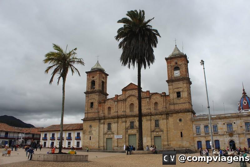 Catedral da cidade de Zipaquirá