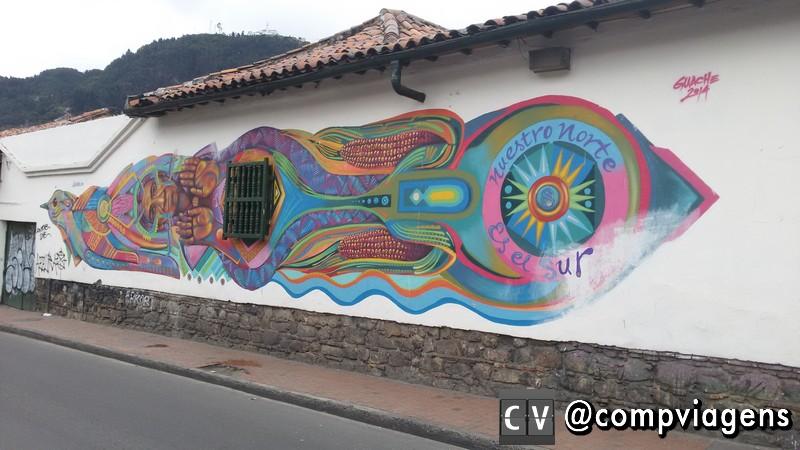 Grafite em La Candelaria