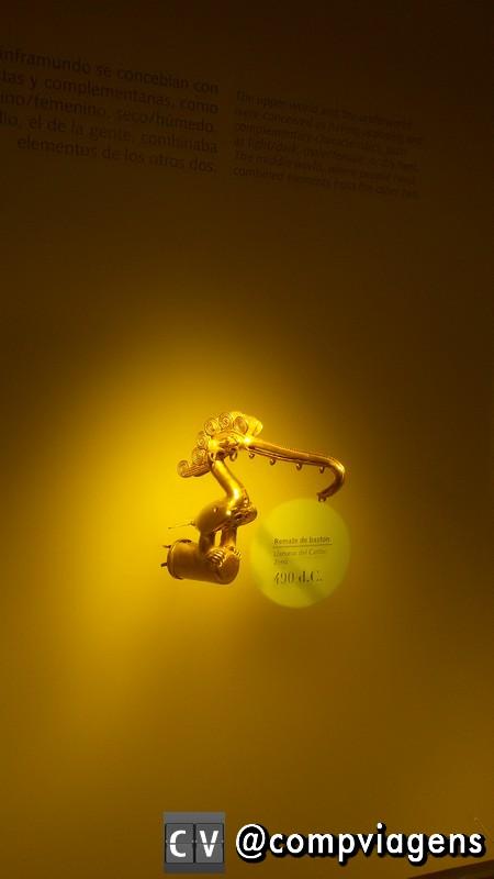 Peça exposta no Museu do Ouro