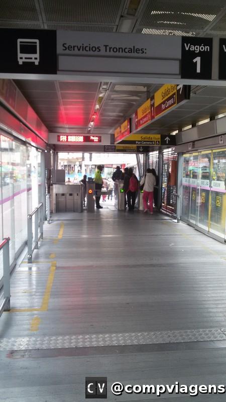 Estação do Transmilenio