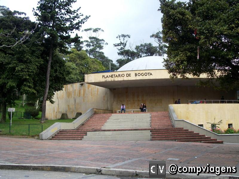 Planetário de Bogotá. Foto: Wikicommons