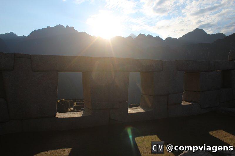 Nascer do Sol em Machu Picchu