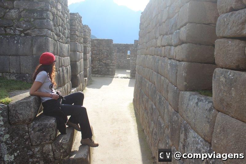 A cidade Inca de Machu Picchu