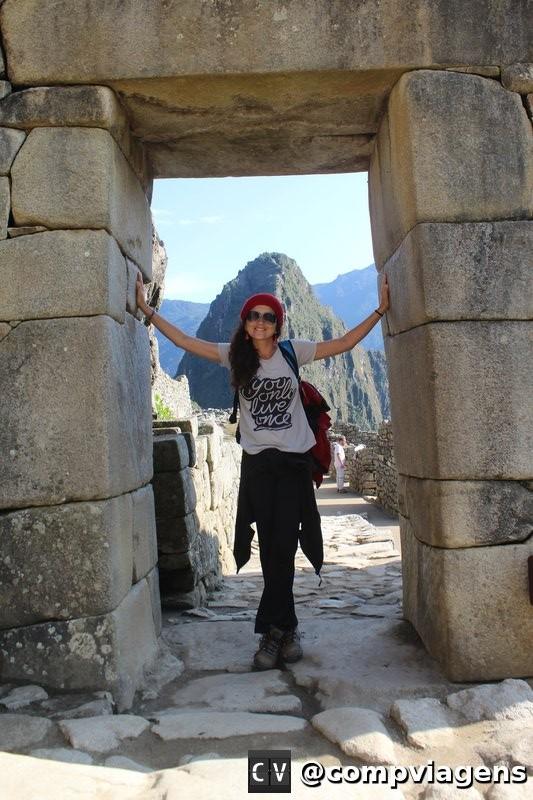 Portão principal da Cidade Inca