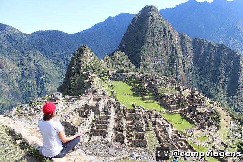 Meditando em Machu Picchu