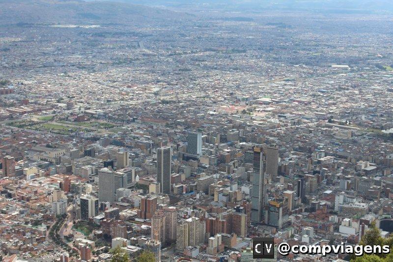Bogotá vista de Monserrate