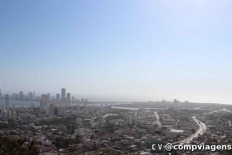 Cartagena vista do Convento de la Popa