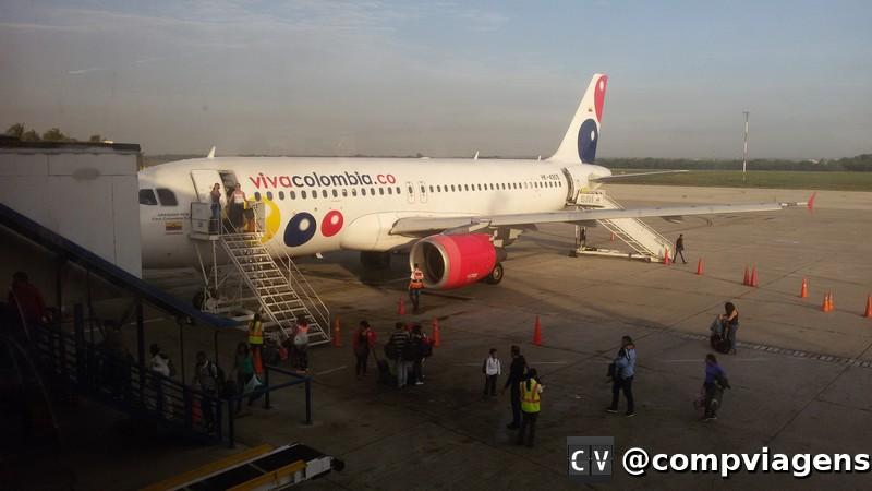 Avião da Viva Colombia