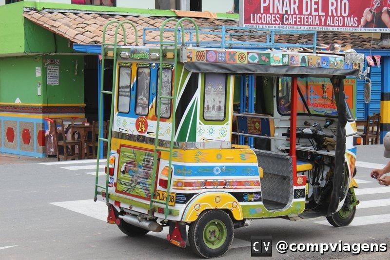 Moto- táxi de Guatapé