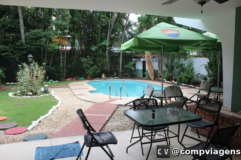 Área comum hostel Los Mostros