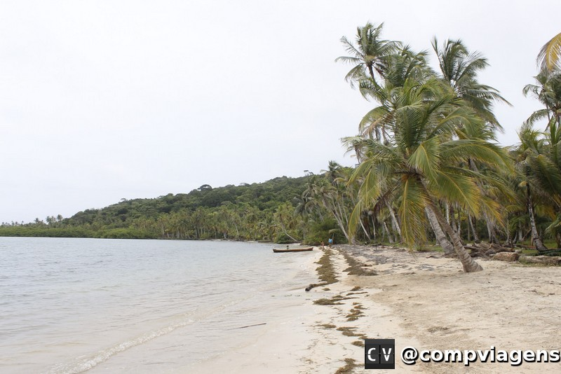Praia na Isla Pino