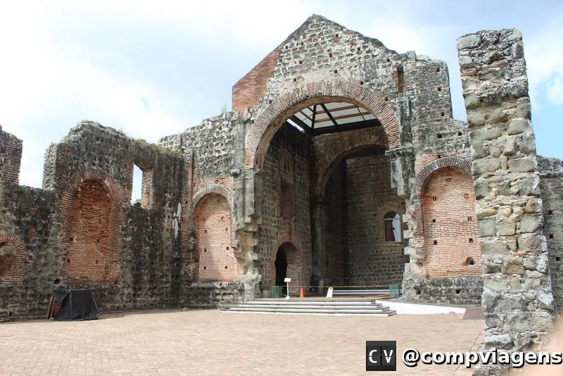 Ruínas em Casco Viejo
