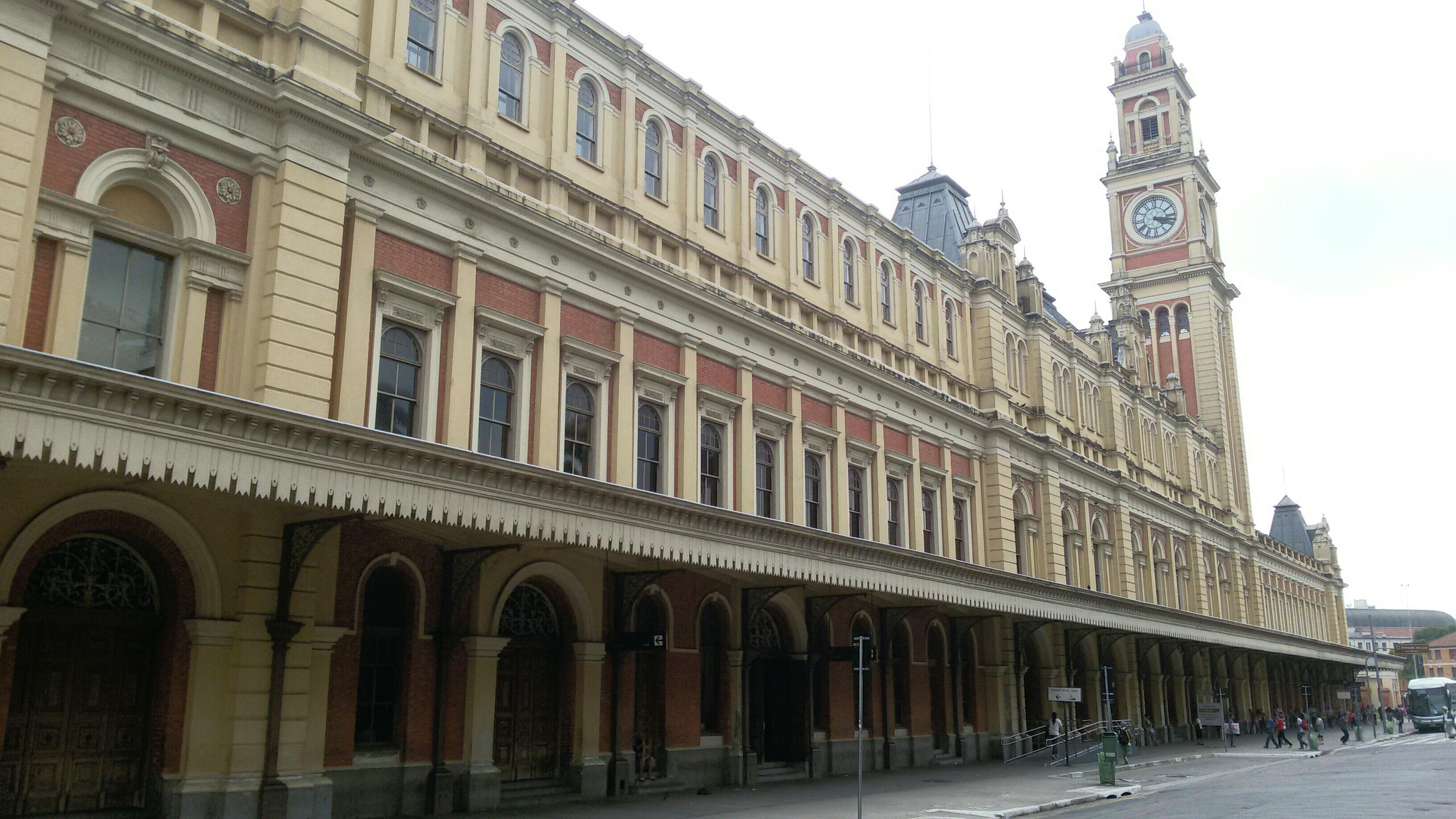 Estação da Luz, onde fica o Museu da Língua Portuguesa