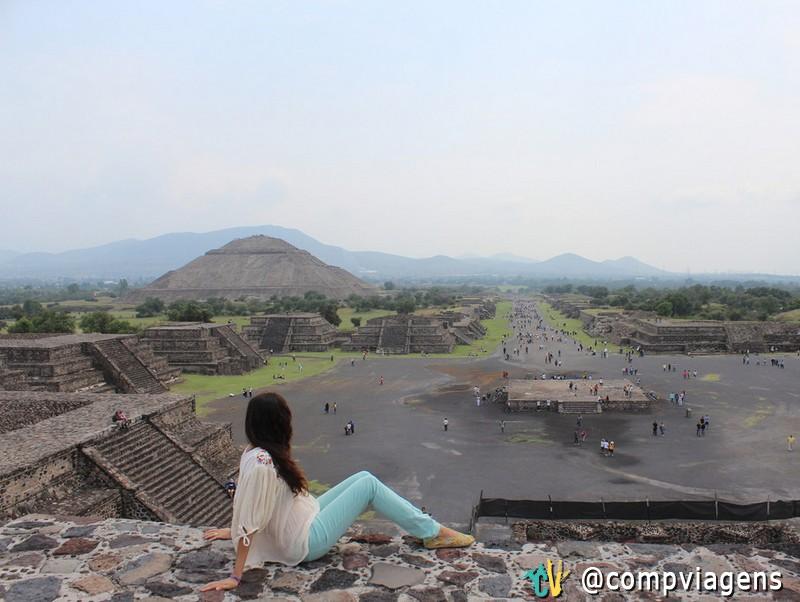 Pirâmides de Teotihuacán, próximo a Cidade do México