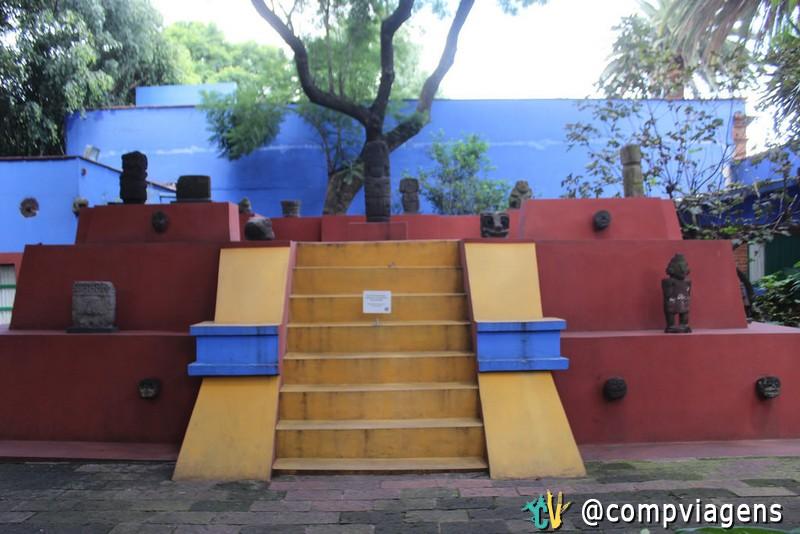 Pátio da Casa Azul