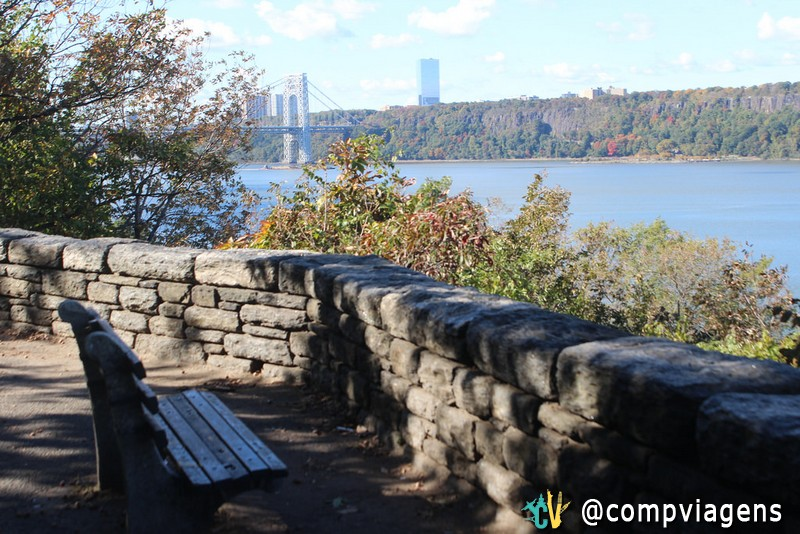 Vista do Fort Tryon Park