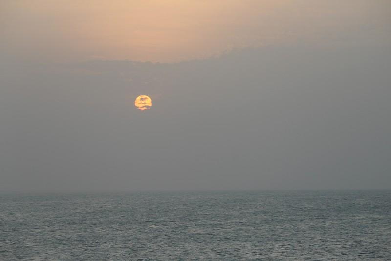 Pôr-do-sol no mar é um dos charmes de Jeri