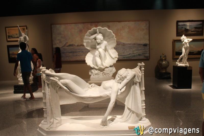 Acervo do Instituto tem réplicas e originais de importantes esculturas
