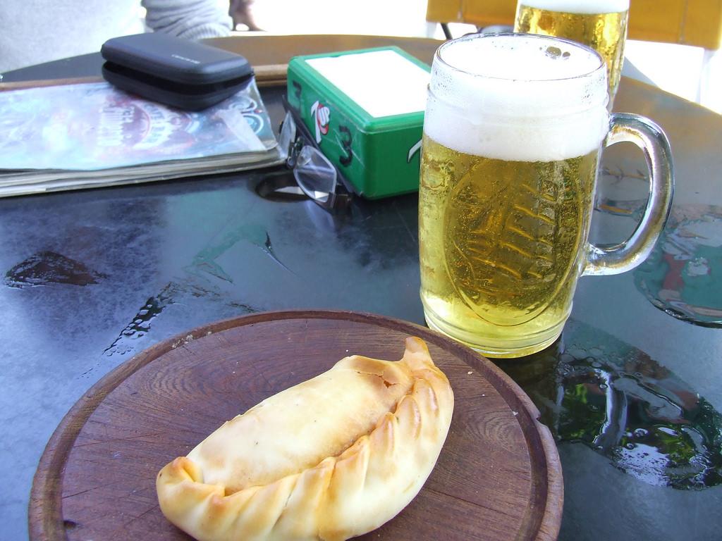 Empanada com Quilmes