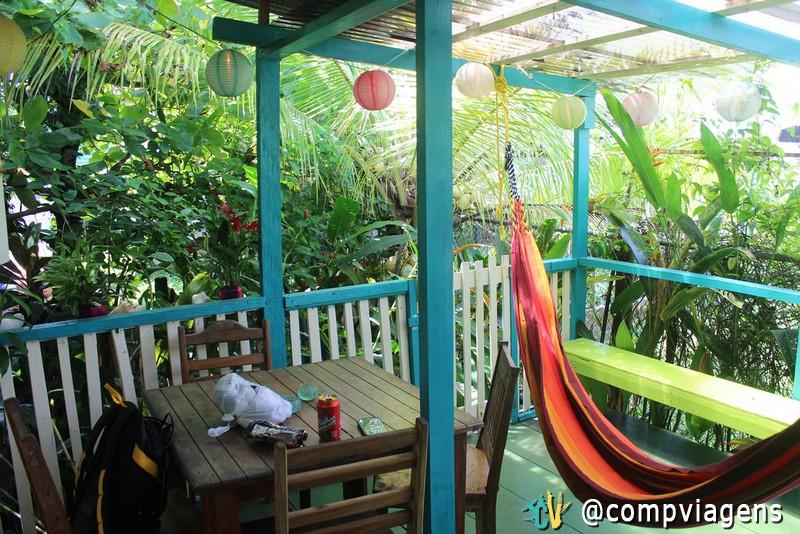 Panama´s Paradise Saigoncito - varanda