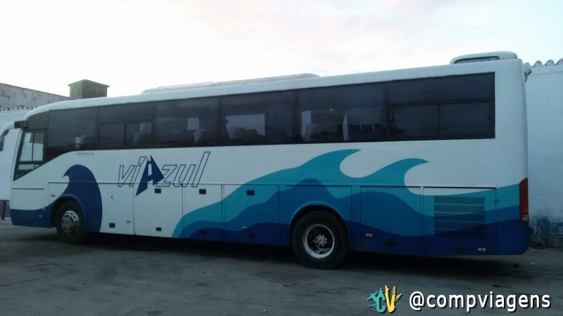 Ônibus intermunicipal em Cuba