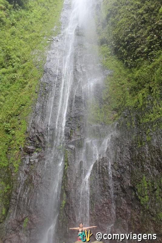 Cachoeira do vulcão Maderas