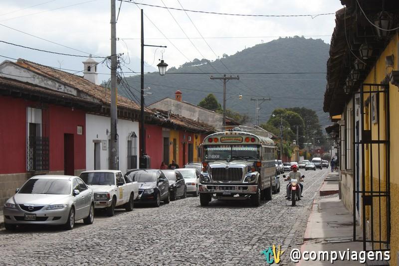 Transporte público da Guatemala, os chamados Chicken Bus