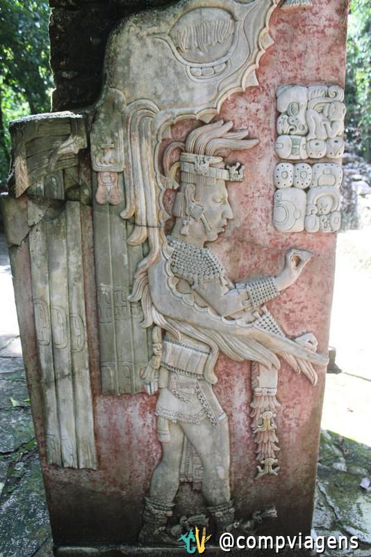 Detalhes de Palenque