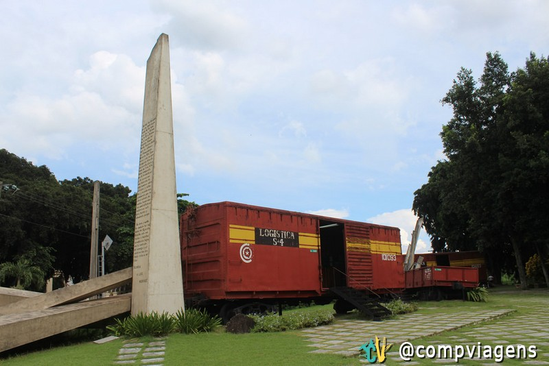 Monumento a tomada do Trem Blindado