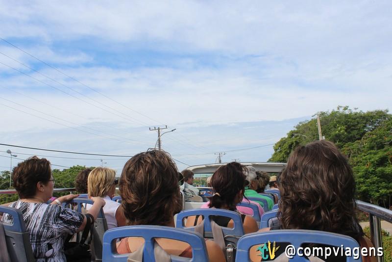 Ônibus turístico em Varadero