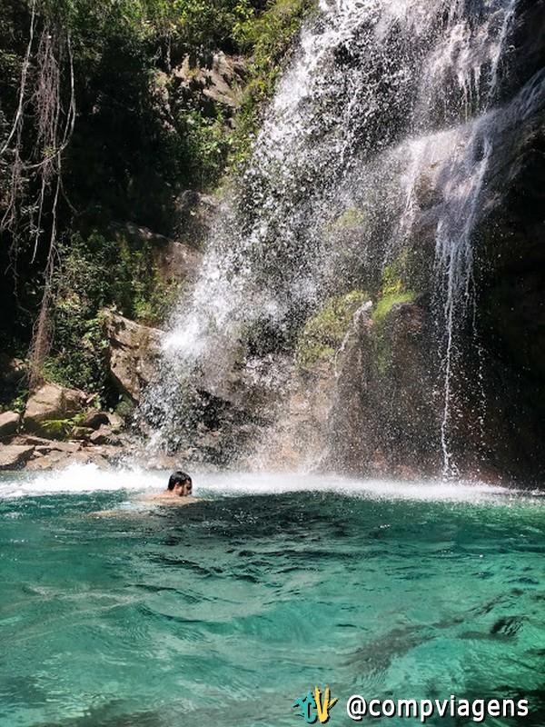 Fred na Cachoeira Santa Bárbara