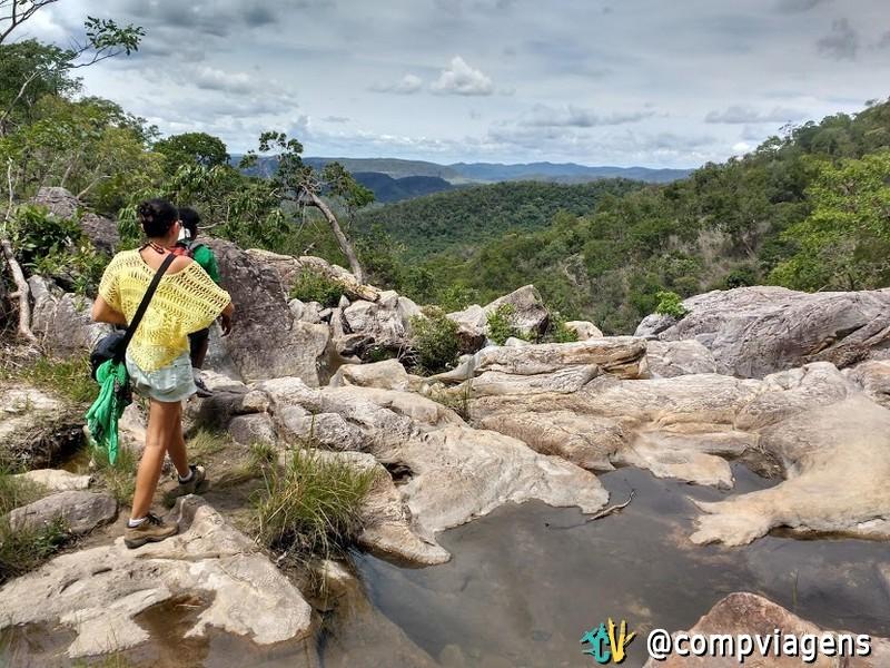 Trilha para a Cachoeira Capivara