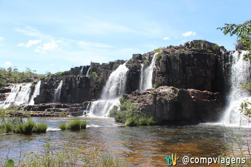 Cachoeira da Muralha, Cataratas dos Couros