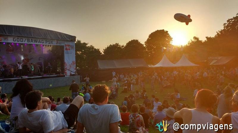 Festival gratuito em Viena
